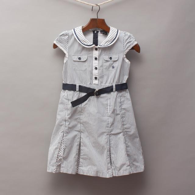 E. Land Kids Nautical Dress