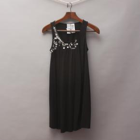 Guess Embellished Black Dress