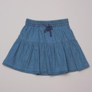 Seed Denim Look Skirt