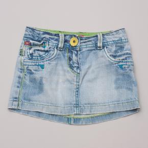 Miss Sixty Distressed Denim Skirt