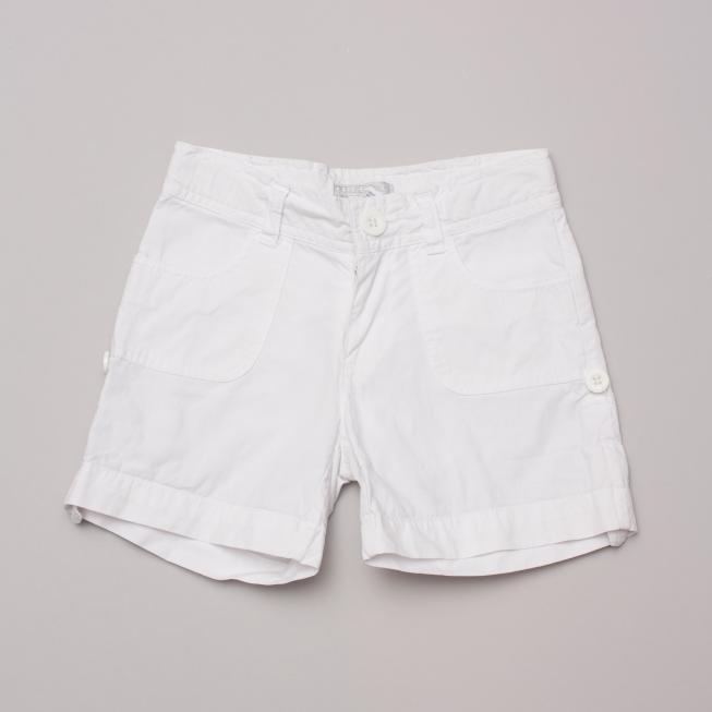 Fred Bare White Shorts