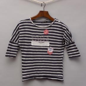 IKKS Striped 3/4 Sleeve Top