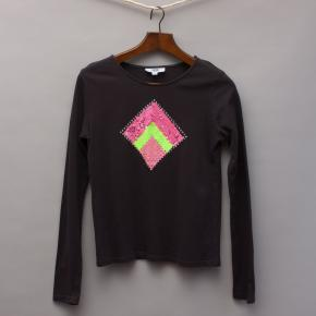 Seed Embellished Long Sleeve Top