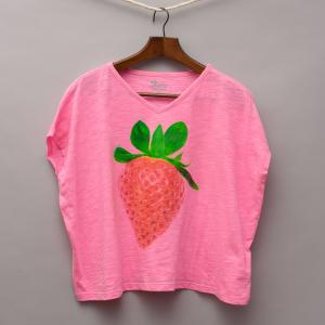Old Navy Strawberry T-Shirt