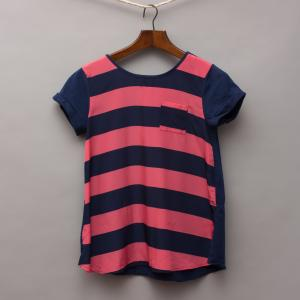 Old Navy Striped Silky T-Shirt