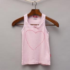 Claesens Pink Heart Singlet