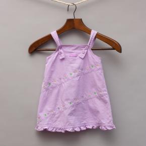 Mini Molly Purple Sundress