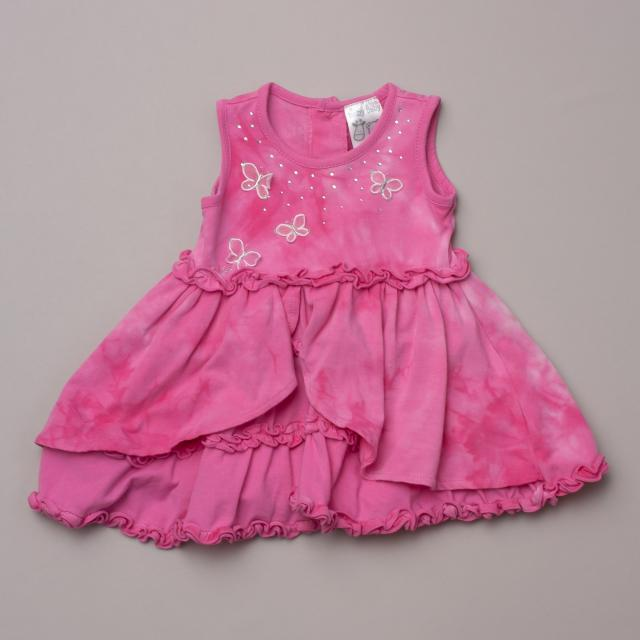 Baby Baby Layered Pink Dress