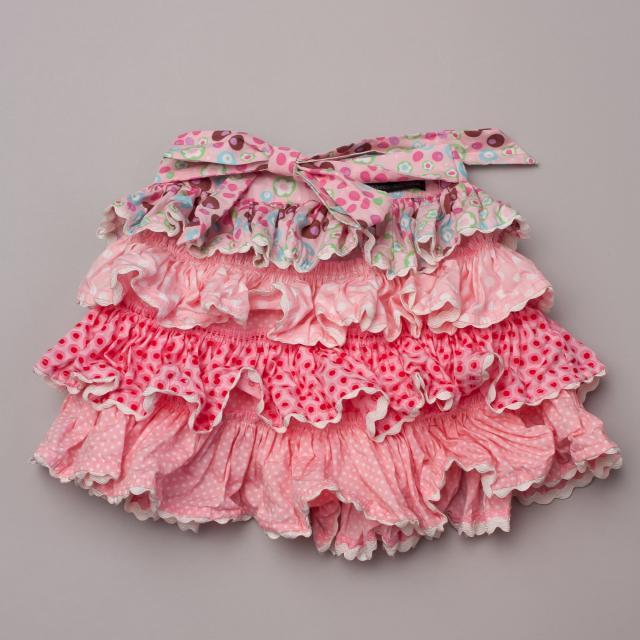 Oobi Pink Ruffle Skirt