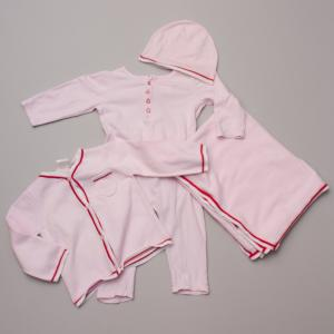 Seed Soft Pink Baby Set 6-12Mths