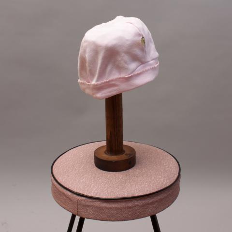 Soft Pink Beanie Hat
