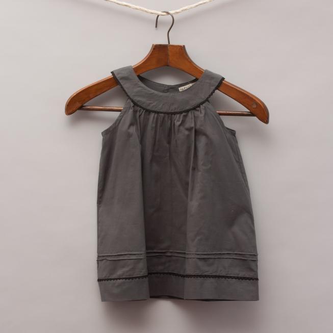 We Love Retro Charcoal Dress