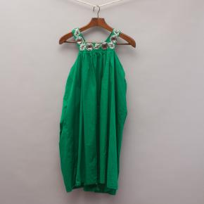 One Red Fly Green Embellished Dress