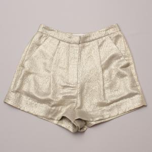 Zimmerman Gold Shorts