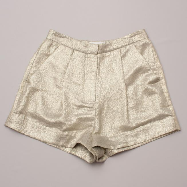 Zimmerman Gold Shorts