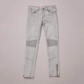 Gum Distressed Denim Jeans