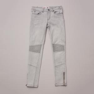 Gum Distressed Denim Jeans