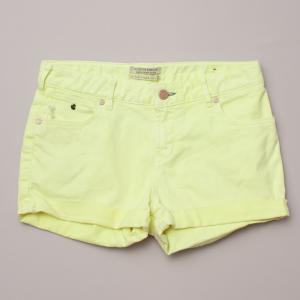 Scotch R'Belle Yellow Shorts