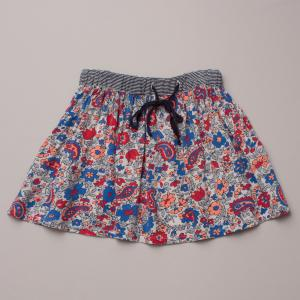 Seed Floral & Paisley Skirt