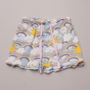 Peter Alexander Rainbow Pajama Shorts