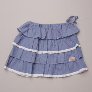 Piccolina Gingham Skirt