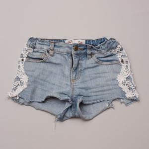 Gum Denim Shorts