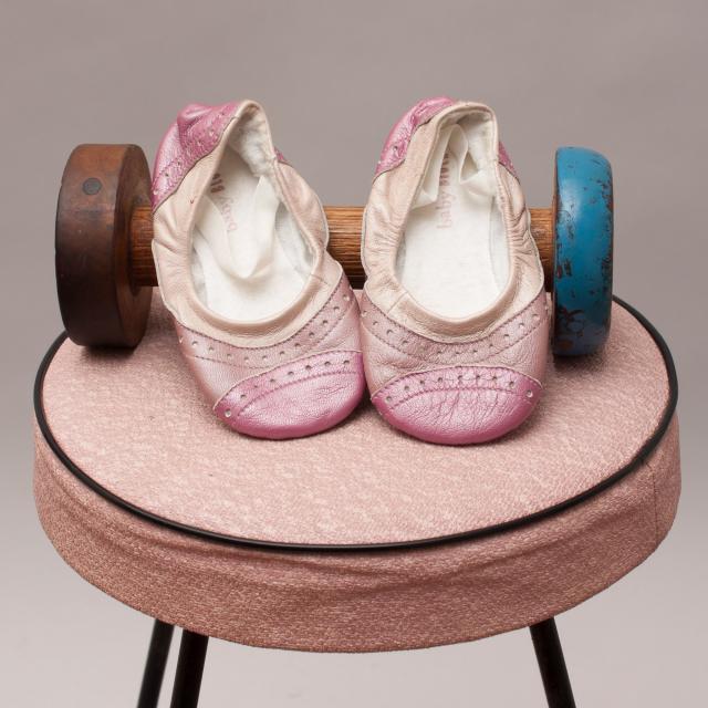 Baby Bloch Purple Slip Ons 12mths