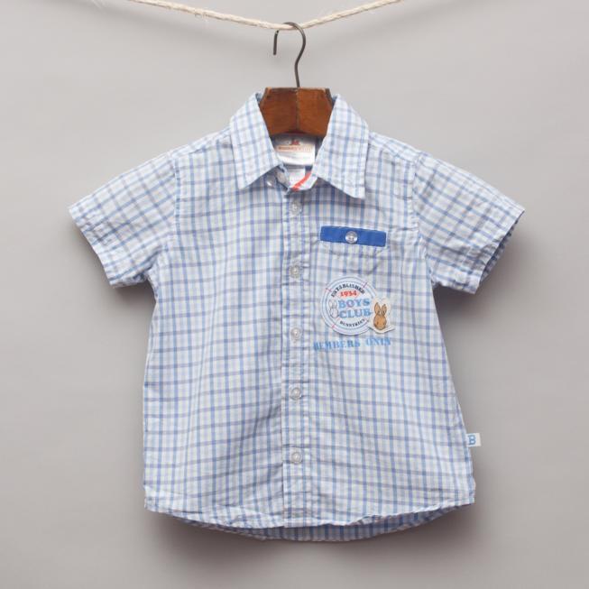 Bunnykins Checked Shirt