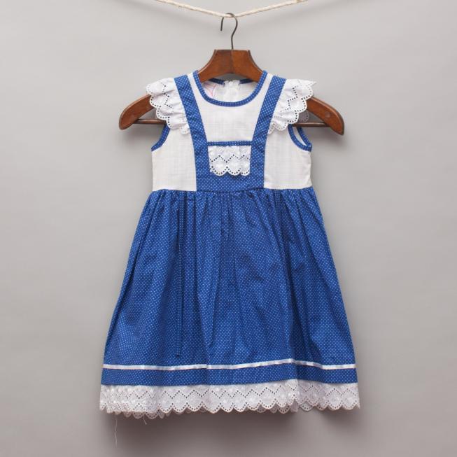 Ruha Blue & White Dress