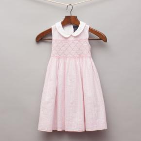 Ralph Lauren Pink Gingham Dress