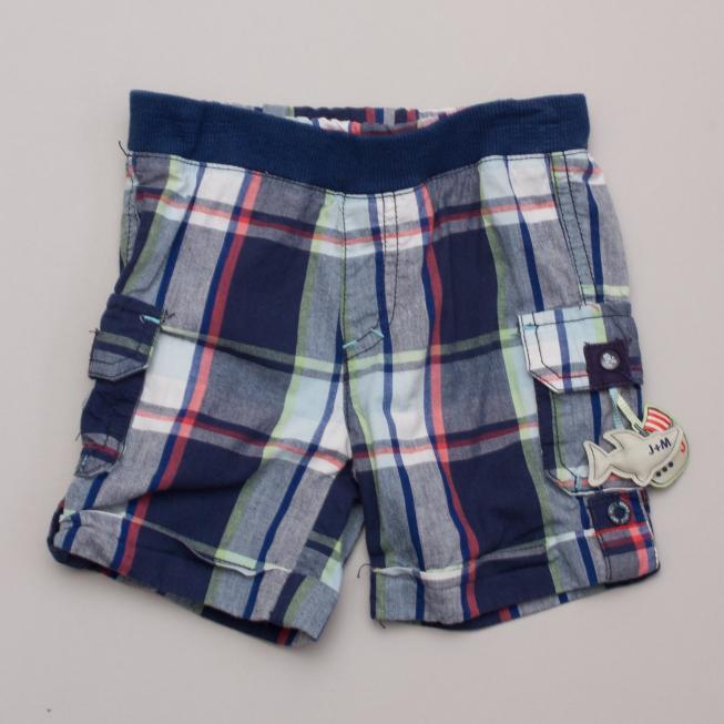 Jack & Milly Plaid Shorts