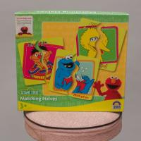 Sesame Street Matching Halves Cards