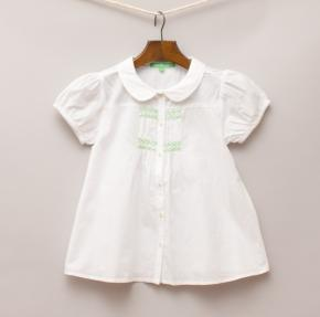 Kids A Go Go White Blouse