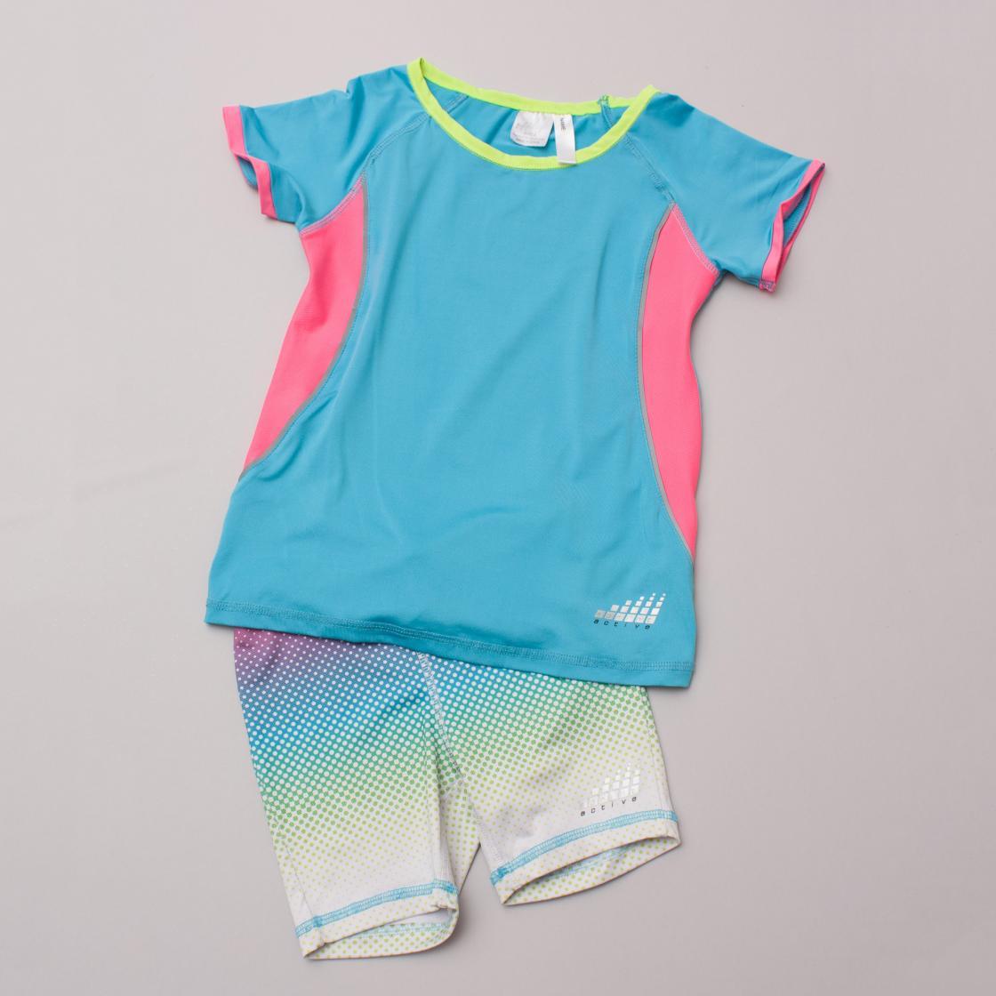 Sprint Active Top & Shorts Set