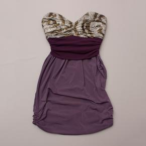 Jacqui Alexander Strapless Dress