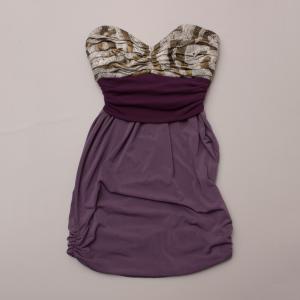 Jacqui Alexander Strapless Dress