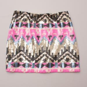Showpony Sequin Skirt