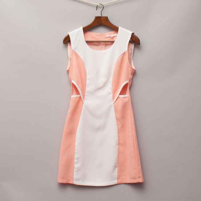Saint Shylo Peach Dress