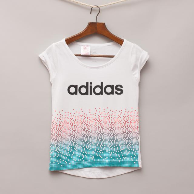 Adidas Patterned T-Shirt