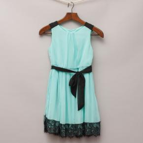 "Origami Aqua Dress ""Current Season"""