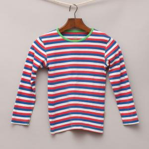 Claesens Striped Long Sleeve Top