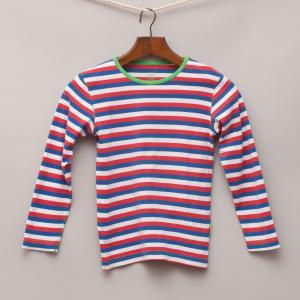 Claesens Striped Long Sleeve Top