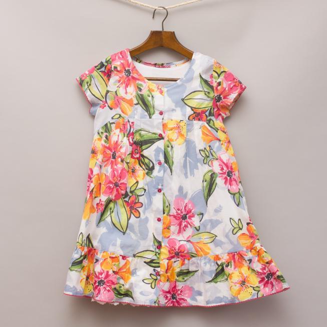 Catamini Floral Dress