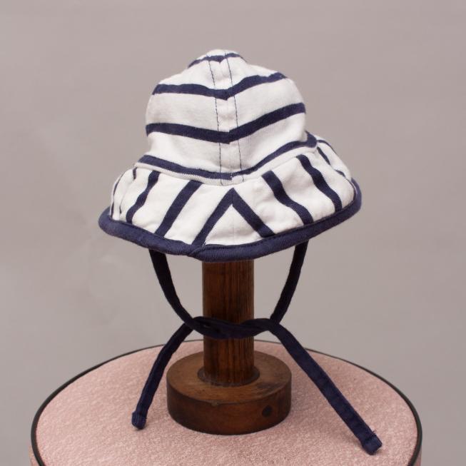 Polarn O. Pyret Striped Hat