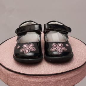 Black Patent Shoes - Size EU 19