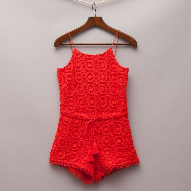Witchery Red Romper