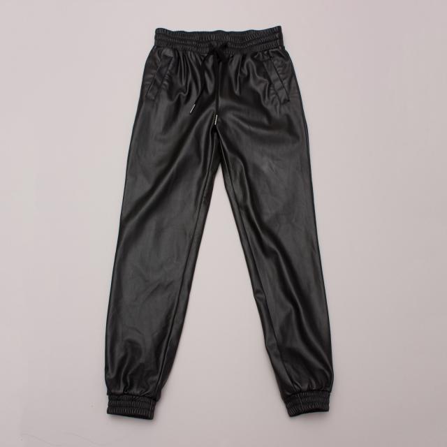 "Bardot Leather ""Look"" Pants"