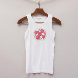 Seed Embroidered Tank Top
