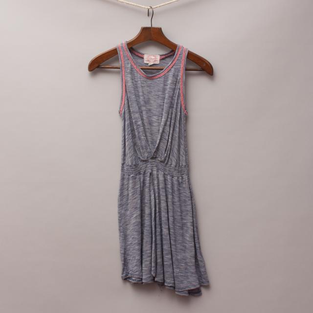 Gum Grey/Blue Dress