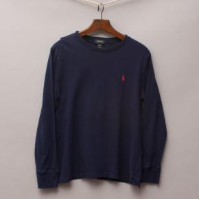 Polo Ralph Lauren Navy Blue Long Sleeve